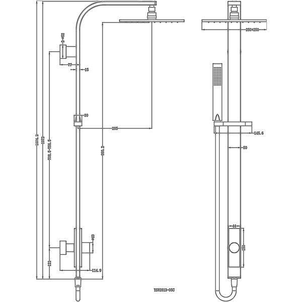 YSW2813-05C 图纸